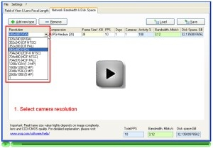 Video stream bandwidth calculation video tutorial