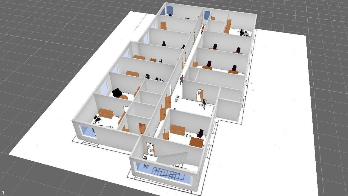 Case 2: Security Cameras in Corridors