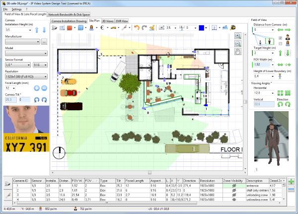 Easy cad software for cctv Simple cad software