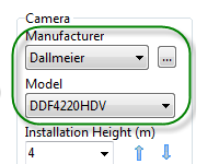 feature 8 built-in database security of camera models