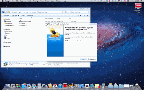Installing JVSG IP Video System Design Tool on Mac