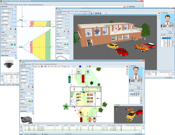 Cctv Layout Software Of Jvsg Cctv Design Software