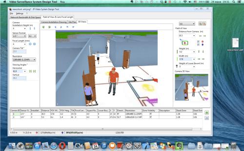 JVSG Beta version 7.0 running on Mac