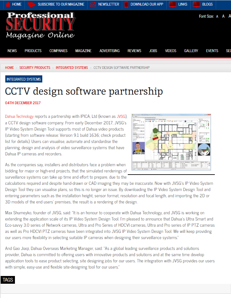 Ip Video System Design Tool In The Press