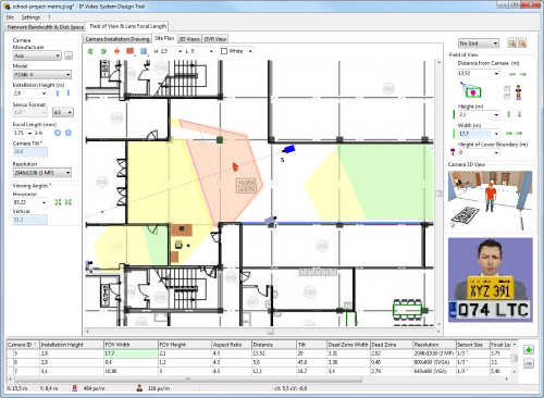 Cctv design software for Cctv layout software
