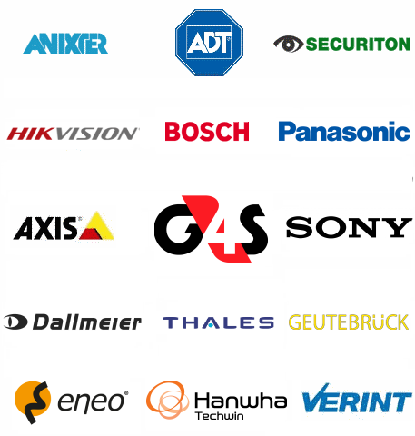 CCTV and security integrators, CCTV manufacturers, end users from transport and aerospace industry